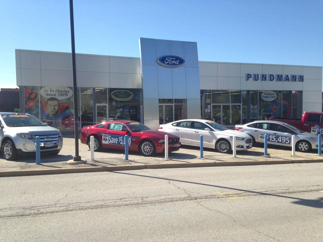 Pundmann Motor Company Hours Directions St Charles Ford